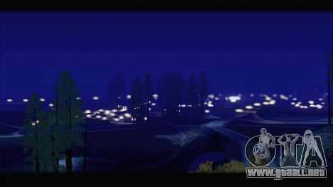 Project 2dfx v1.5 para GTA San Andreas quinta pantalla