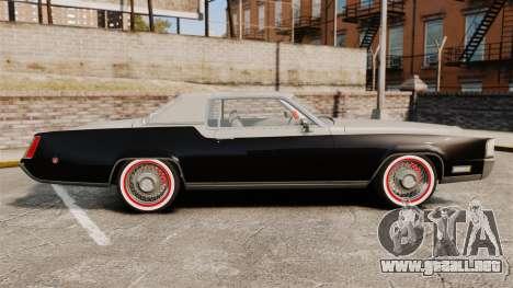 Cadillac Eldorado Coupe 1969 para GTA 4 left