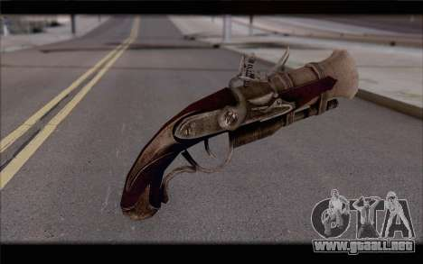 Trabuco pirata para GTA San Andreas segunda pantalla
