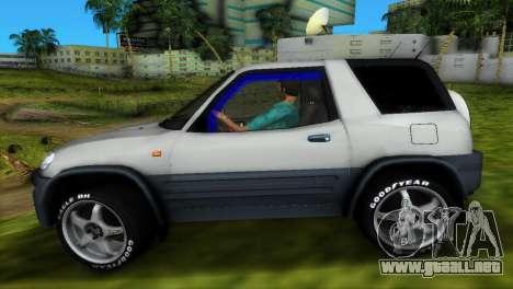 Toyota RAV 4 L 94 Fun Cruiser para GTA Vice City vista desde abajo