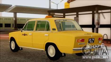VAZ 21011 de Taxi para GTA San Andreas left