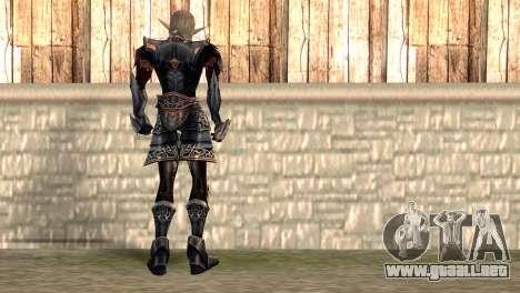 Elfo oscuro para GTA San Andreas segunda pantalla