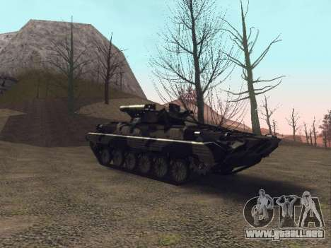 BMP-2 para vista lateral GTA San Andreas
