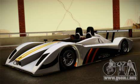 Caterham-Lola SP300.R para GTA San Andreas left