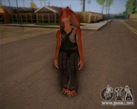 Jar Jar Binks para GTA San Andreas
