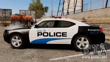 Dodge Charger 2010 Police [ELS] para GTA 4 left