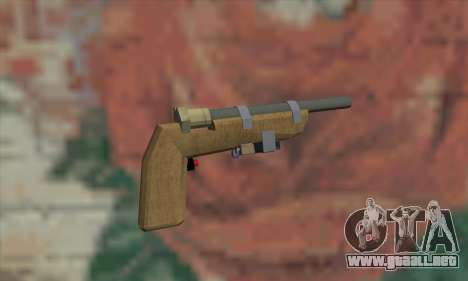 Arma casera para GTA San Andreas segunda pantalla