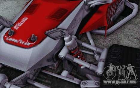 XCelerator Buggy XL para la visión correcta GTA San Andreas