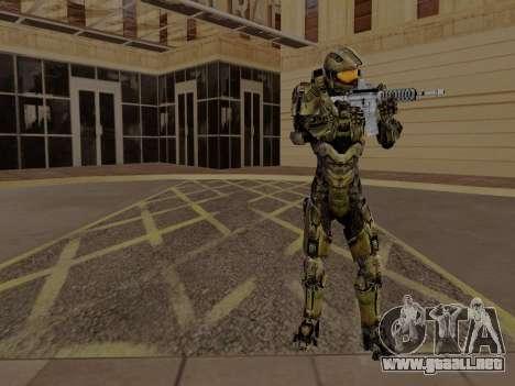Master Chief para GTA San Andreas tercera pantalla