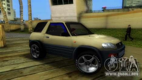 Toyota RAV 4 L 94 Fun Cruiser para GTA Vice City left