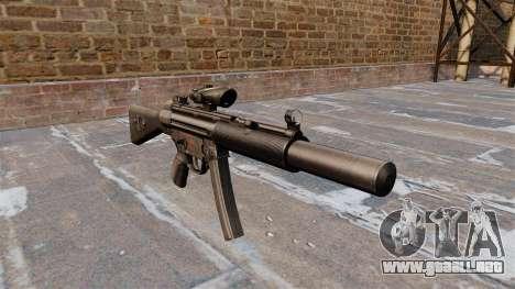 Ametralladora HK MP5SD2 para GTA 4