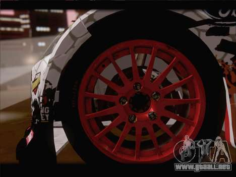Ford Fiesta RS WRC 2013 para la vista superior GTA San Andreas