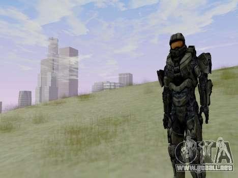 Master Chief para GTA San Andreas séptima pantalla