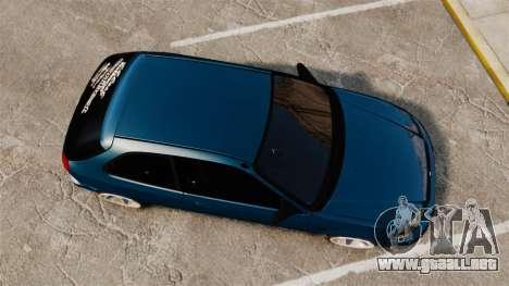 Honda Civic EK para GTA 4 visión correcta