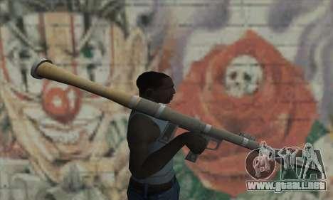 Lanzador de misiles de los Saints Row 2 para GTA San Andreas tercera pantalla