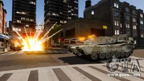 Estilo de escritura del tanque V para GTA 4 sexto de pantalla