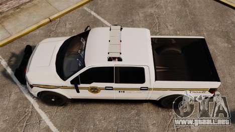 Ford F-150 2012 CEPS [ELS] para GTA 4 visión correcta
