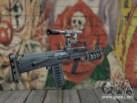 Rifle de S.T.A.L.K.E.R. para GTA San Andreas segunda pantalla