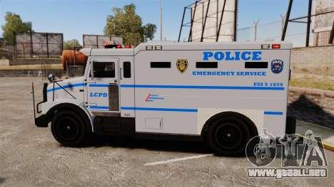 Enforcer LCPD [ELS] para GTA 4 left