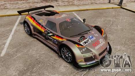 Gumpert Apollo S 2011 para GTA motor 4