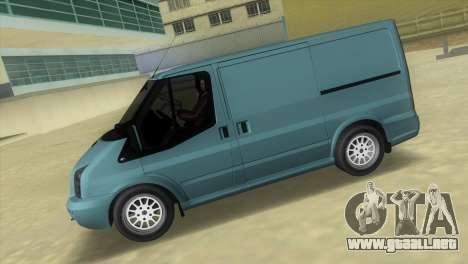 Ford Transit Sportback 2011 para GTA Vice City left