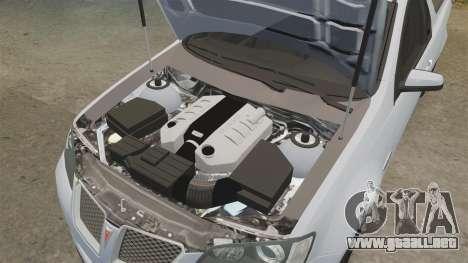 Pontiac G8 Sport Truck 2010 para GTA 4 vista lateral