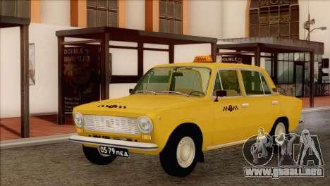 VAZ 21011 de Taxi para GTA San Andreas