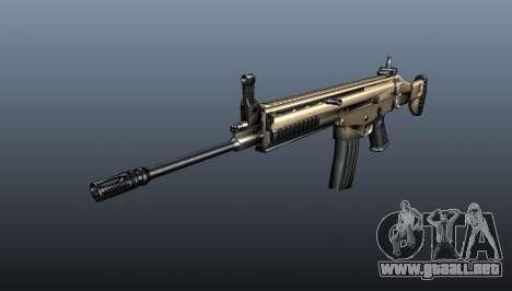 Rifle de asalto SCAR-L para GTA 4