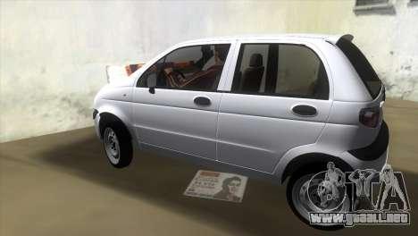 Daewoo Matiz para GTA Vice City left