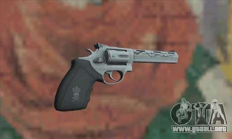 Silver Absolver para GTA San Andreas segunda pantalla