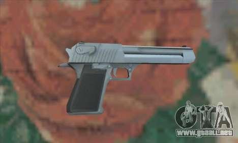 Desert Eagle de Saints Row 2 para GTA San Andreas segunda pantalla