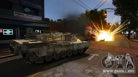 Estilo de escritura del tanque V para GTA 4 segundos de pantalla