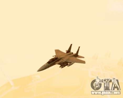 F-15E Strike Eagle para visión interna GTA San Andreas