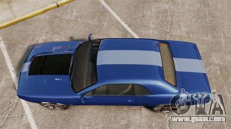 GTA V Declasse Gauntlet ZL1 para GTA 4 visión correcta