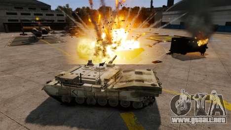 Estilo de escritura del tanque V para GTA 4 novena de pantalla