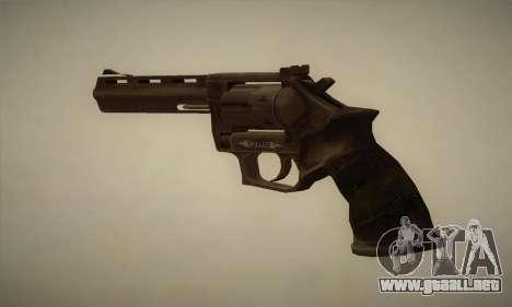 Revólver MR96 para GTA San Andreas segunda pantalla