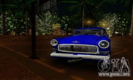 GAZ 21 Volga para la visión correcta GTA San Andreas