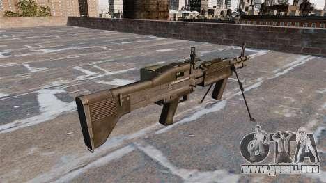 Ametralladora de propósito general M60E4 para GTA 4 segundos de pantalla