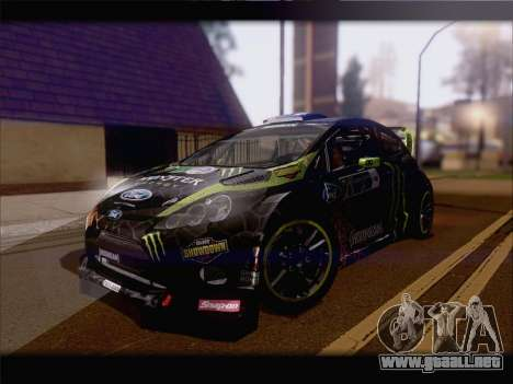 Ford Fiesta RS WRC 2013 para GTA San Andreas left