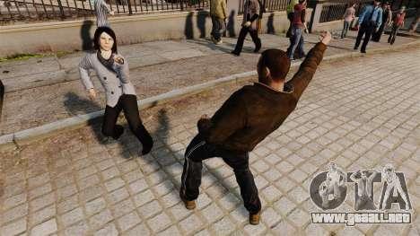 El guión-baile - para GTA 4 tercera pantalla