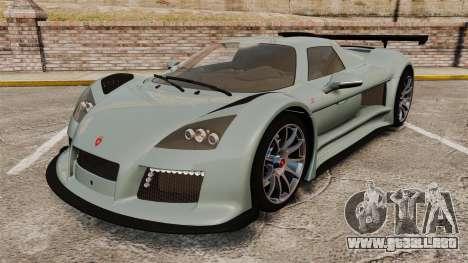 Gumpert Apollo S 2011 para GTA 4
