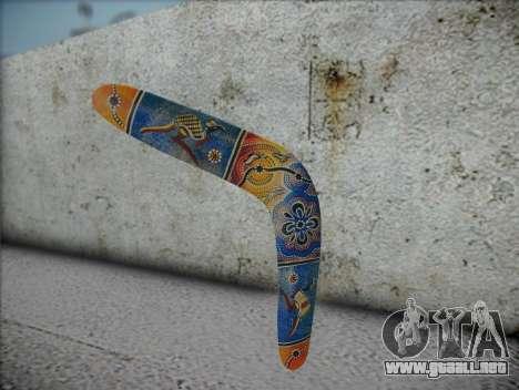 Boomerang para GTA San Andreas