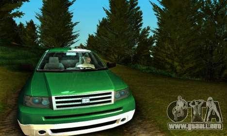 Landstalker GTA IV para visión interna GTA San Andreas