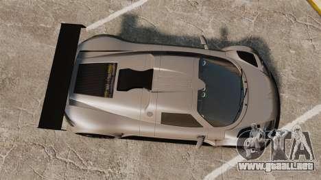 Gumpert Apollo S 2011 para GTA 4 visión correcta