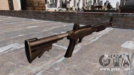 Escopeta táctica policial para GTA 4 segundos de pantalla