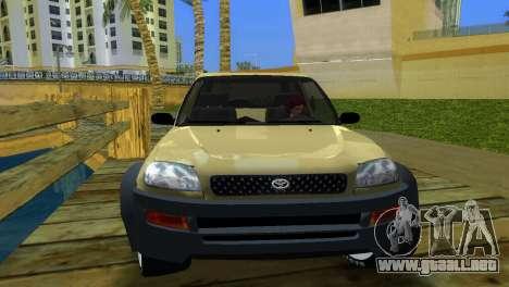 Toyota RAV 4 L 94 Fun Cruiser para GTA Vice City vista lateral izquierdo