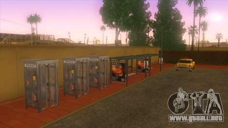 Estación de autobuses, Los Santos para GTA San Andreas quinta pantalla