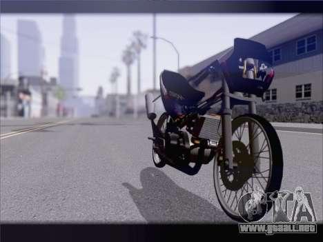 Suzuki Satria FU para la visión correcta GTA San Andreas
