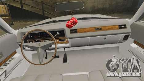 Cadillac Eldorado Coupe 1969 para GTA 4 vista lateral