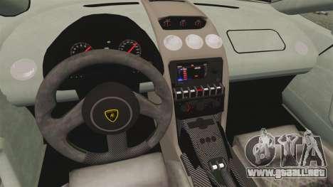 Lamborghini Gallardo 2013 v2.0 para GTA 4 vista interior